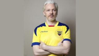 Brasil 2014: Fundador de WikiLeaks se declara hincha de Ecuador