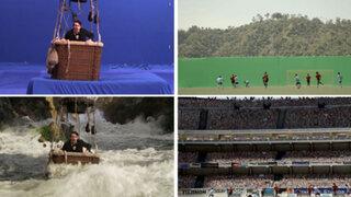 FOTOS: 18 escenas épicas del cine antes y después de los efectos especiales