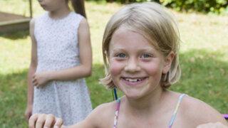 Salvan de morir a niña que padecía de incontrolables ataques de risa