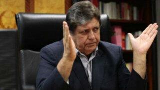 Alan García designó al magistrado que resolverá su acción de amparo