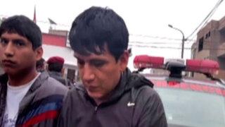 Falsos 'colectiveros' son capturados tras feroz balacera en calles de SJL