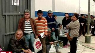 Caos en Setame: taxistas hicieron largas colas para certificado de operación