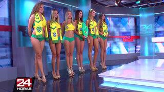 Chicas Doradas de Brasil prometen subir la temperatura al ritmo de samba