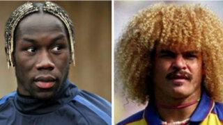 Los peinados más curiosos de jugadores en los mundiales de fútbol