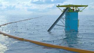 Holanda: presentan proyecto innovador para limpiar los océanos
