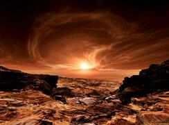 Imágenes captadas por la NASA muestran el maravilloso amanecer de Marte