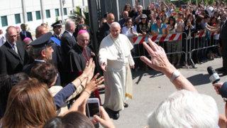 Italia: Papa Francisco encaró a la mafia en su visita a Calabria