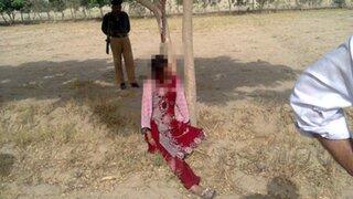 Mujer fue violada en grupo y ahorcada en Pakistán