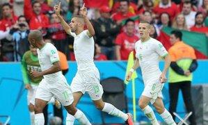 Brasil 2014: Argelia venció por 4-2 a Corea del Sur y aún sueña con octavos