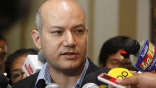 César Valega: Es gravísimo asumir que el PJ está por encima del Congreso