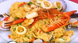 Conozca cómo preparar un arroz con marisco gracias a Lorena y Nicolasa