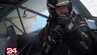 Impactante: corredor de rally grabó su propio accidente con cámara GoPro