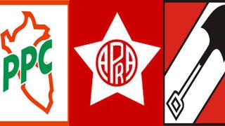 Los partidos históricos APRA, AP, PPC y sus candidatos a la alcaldía