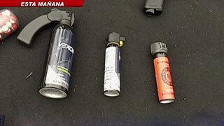 Entérate todo lo que debes saber sobre el uso de gases en defensa personal