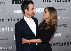 Jennifer Aniston y Justin Theroux derrocharon amor en la alfombra roja