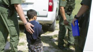 Cancillería informa que 65 niños peruanos ingresaron ilegalmente a EEUU