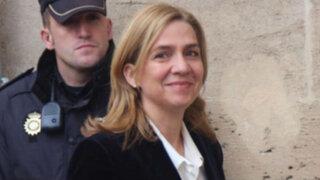España: infanta Cristina declara por denuncias de corrupción
