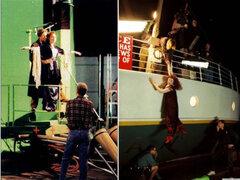 Así se hizo: fotos que quizá nunca viste de los detrás de cámaras de Titanic