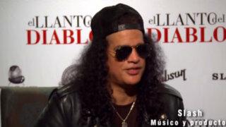 """Slash: """"Nunca pensé formar parte de una película de terror"""""""