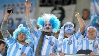 Lima: hinchas argentinos vibraron con triunfo de su selección sobre Nigeria
