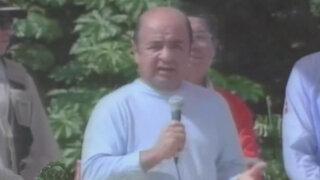 Piden prisión preventiva contra presidente regional de Loreto