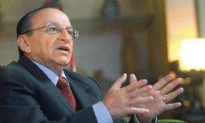 Peláez aseguró que no hay sustento para ser investigado por caso Áncash