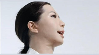 VIDEO: la presentadora de televisión del futuro será un androide
