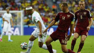 Brasil 2014: Argelia y su histórico pase a octavos tras empatar 1-1 ante Rusia