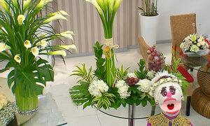 Lorena y Nicolasa: aprenda a realizar arreglos florales para primera comunión