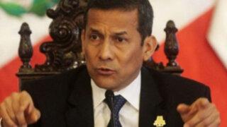 Humala pidió cero tolerancia para investigar a gobiernos regionales