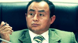 Autoridades peruanas rechazan medida cautelar a favor de Gregorio Santos