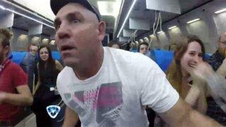 El peor viaje de su vida: la increíble cámara oculta puso en zozobra a La Mole Moli