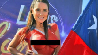 Francisca Undurraga, la musa chilena que quiere el título de Novia del Mundial