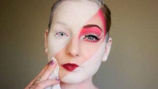 FOTOS: maquilladora causa furor en las redes por increíbles pinturas faciales