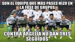 FOTOS: mira estos curiosos memes sobre la ajustada victoria de Alemania sobre Argelia