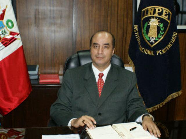 INPE: César Álvarez será trasladado este lunes a un penal