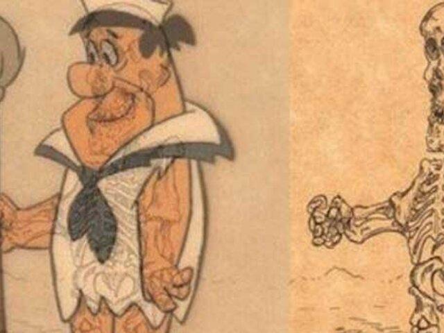 Rayos X: así son los esqueletos de las caricaturas que marcaron tu infancia