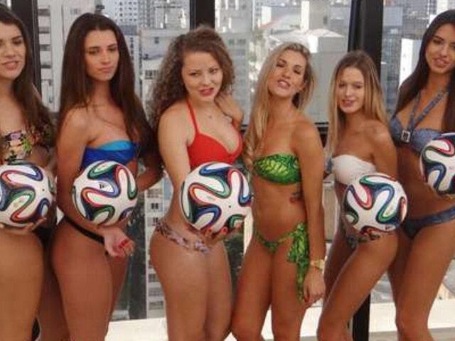 """Conozca a las flamantes """"Chicas doradas de Brasil"""" que llegan a alborotar Lima"""