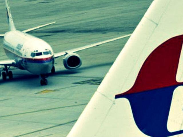 Revelan que avión desaparecido de Malaysia Airlines volaba con piloto automático