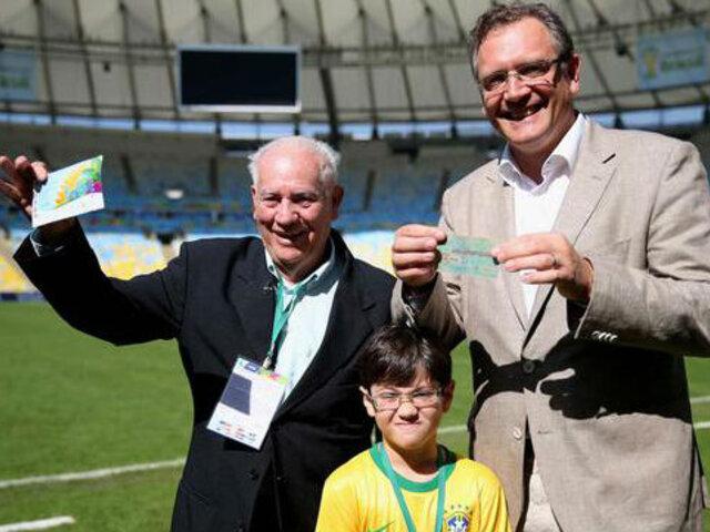 FIFA regaló entradas para la final del mundial a un brasileño a cambio de la suya de 1950