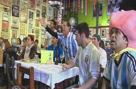 Argentina 1-0 Suiza: hinchas gauchos en Lima sufrieron hasta el último momento