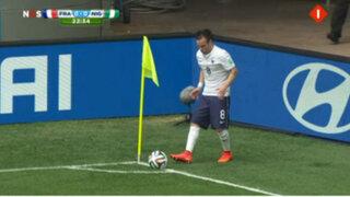 Mathieu Valbuena y su pequeña estatura causan sensación en las redes sociales