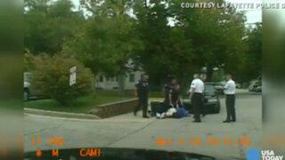 VIDEO: policía agrede a joven discapacitado en calles de Estados Unidos