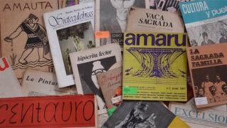 """Presentan exposición """"Soñar, hacer, leer: 100 años de revistas literarias"""""""