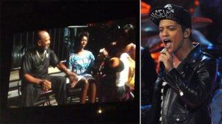 Bruno Mars dedicó canción a niña que se salvó gracias a su música