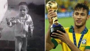 Video de niño argentino que apoya a Brasil en Mundial se vuelve viral