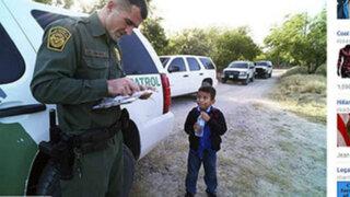 Se vuelve viral foto que revela drama de niños indocumentados en EEUU