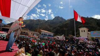 """Presidente Humala: Aeropuerto de Chinchero permitirá """"despegue"""" del Cusco"""