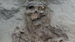 Especialistas decubrieron tumbas de una cultura desconocida en Arequipa