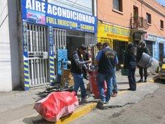 Autoridades decomisaron grandes cantidades de autopartes en Arequipa
